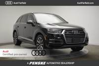 Certified Pre-Owned 2017 Audi Q7 3.0T Premium SUV in Fairfield, CT