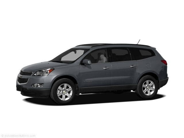 Photo 2010 Used Chevrolet Traverse AWD 4dr LT w1LT For Sale in Moline IL  Serving Quad Cities, Davenport, Rock Island or Bettendorf  S1911B
