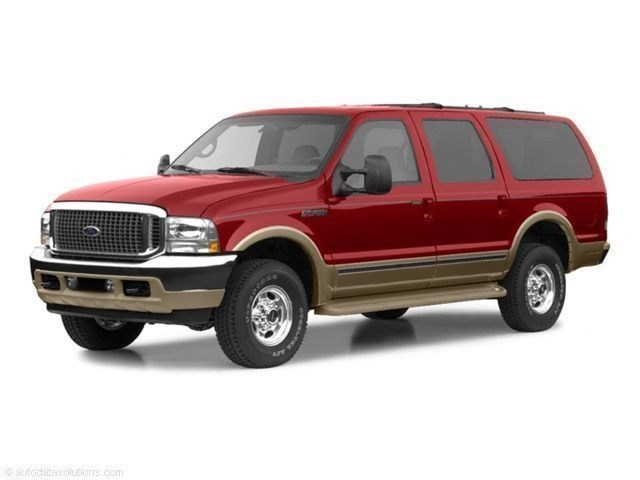 Photo Used 2002 Ford Excursion XLT SUV Power Stroke V8 DI 16V OHV Turbodiesel in Red Hill, PA