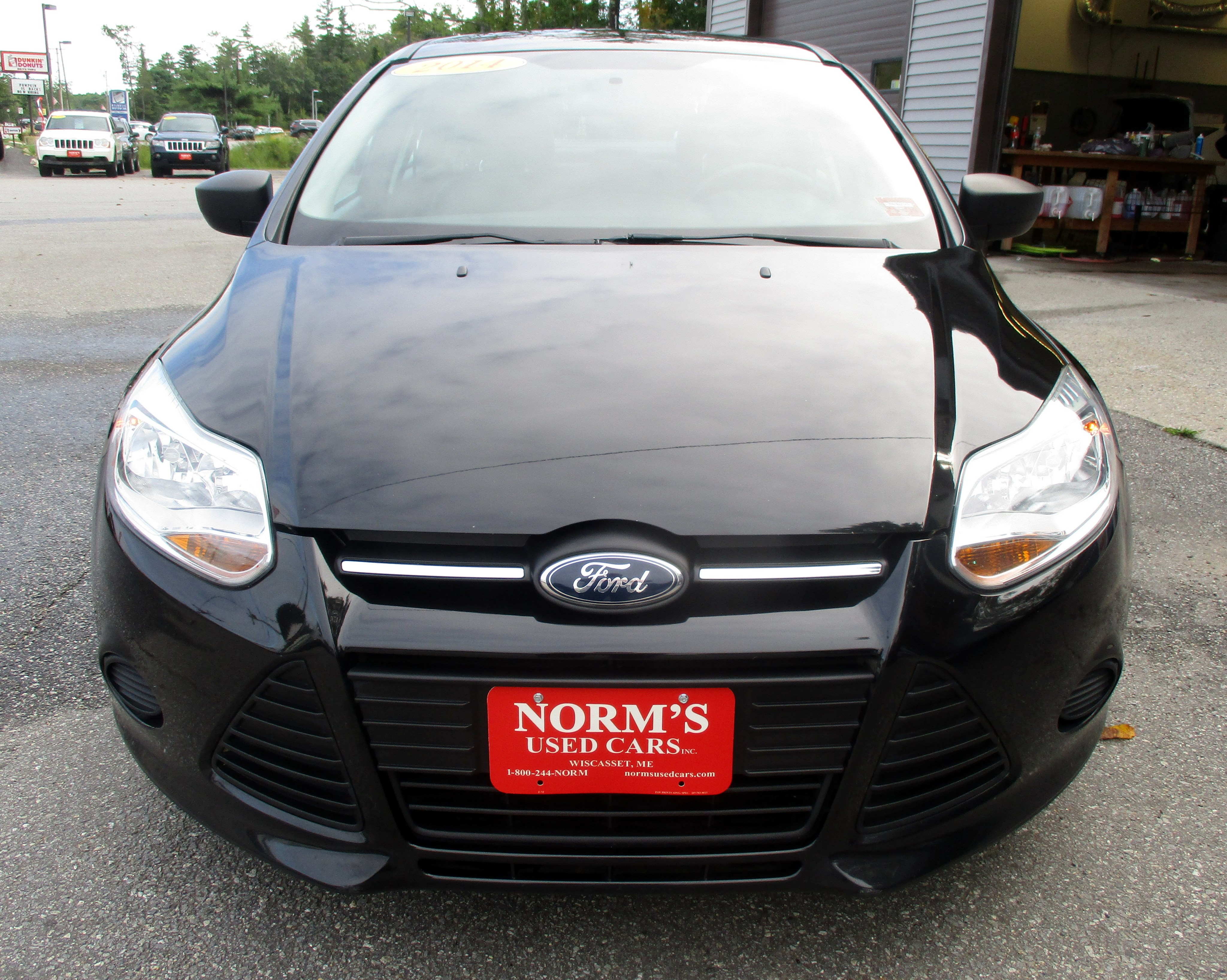 Photo Used 2014 Ford Focus For Sale  Wiscasset ME