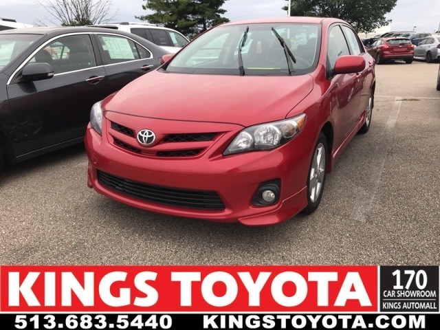 Photo Used 2013 Toyota Corolla S in Cincinnati, OH