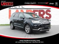 PRE-OWNED 2018 FORD EXPLORER LIMITED FOUR WHEEL DRIVE SPORT UTILITY