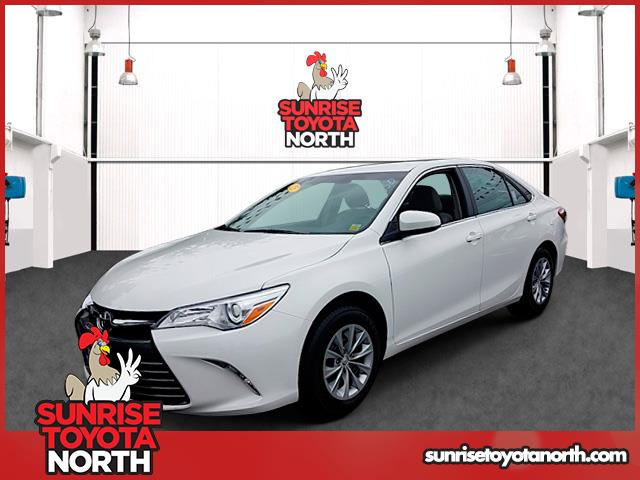 Photo Certified Used 2015 Toyota Camry LE Sedan For Sale on Long Island, New York