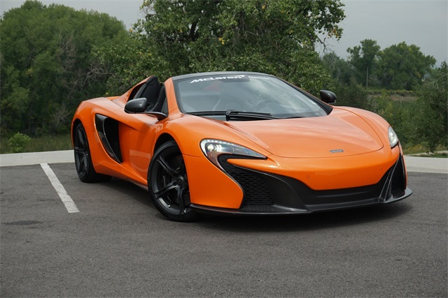 Photo Pre-Owned 2016 McLaren 650S Spider RWD 2D Convertible