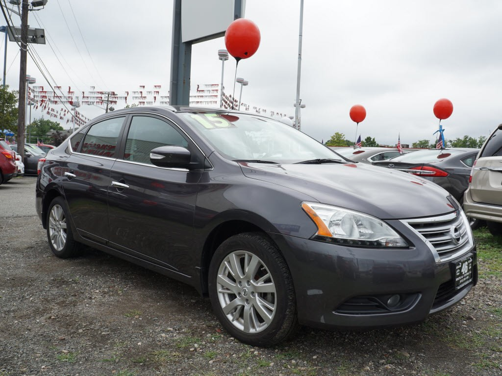 Photo Used 2015 Nissan Sentra SV Sedan  Totowa NJ  VIN 3N1AB7AP6FY251190