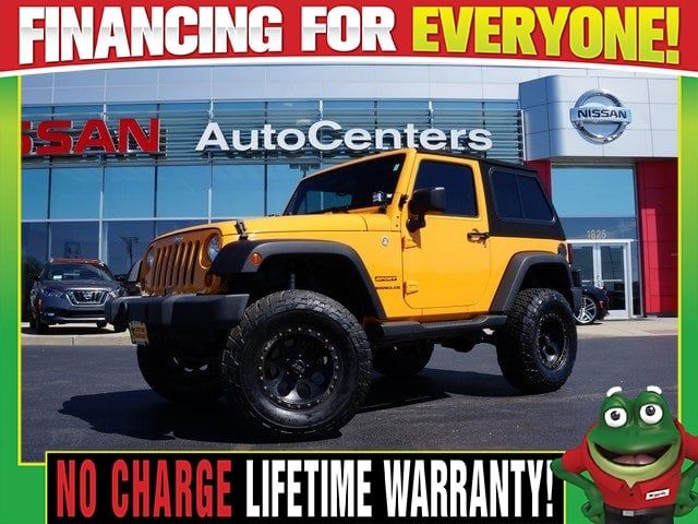 Photo Used 2012 Jeep Wrangler Sport 4WD - CUSTOM LIFT and TOP For Sale Near St. Louis