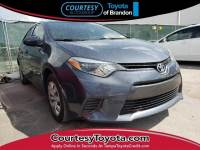 Certified 2016 Toyota Corolla L Sedan near Tampa FL