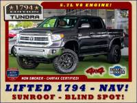2014 Toyota Tundra 1794 CrewMax 4x4 - LIFTED - EXTRA$ - BLIND SPOT!