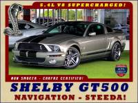 2008 Ford Mustang Shelby GT500 - SUPERCHARGED - NAV - HID HEADLIGHTS