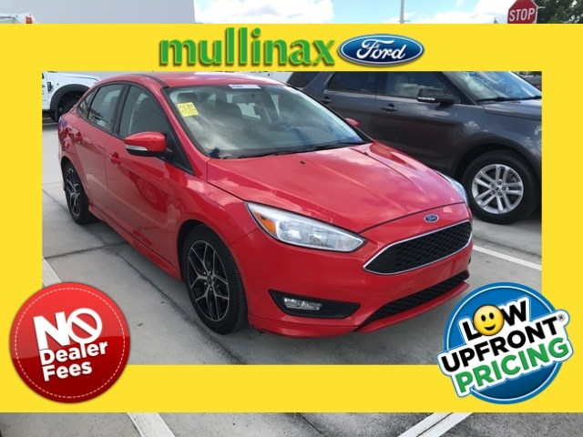Photo Used 2015 Ford Focus SE Turbocharged W Full Body KIT, 17 Wheels, Heate Sedan I-3 cyl in Kissimmee, FL