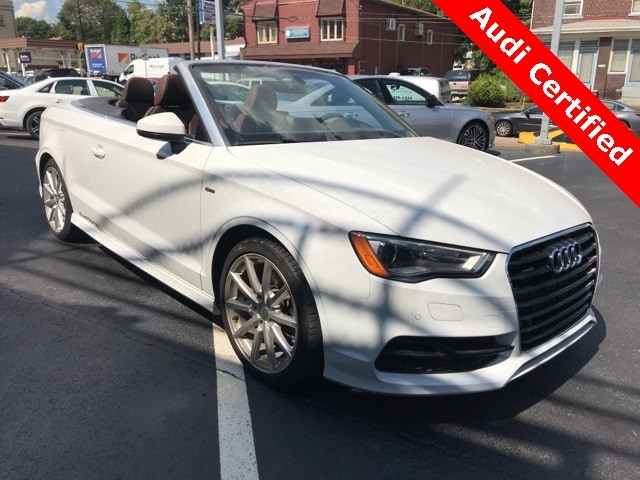 Photo Used 2016 Audi A3 2.0T Premium Cabriolet in Pittsburgh