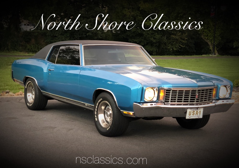 Photo 1972 Chevrolet Monte Carlo -BIG BLOCK 454 w4 Speed- Air Conditioning- SEE VIDEO
