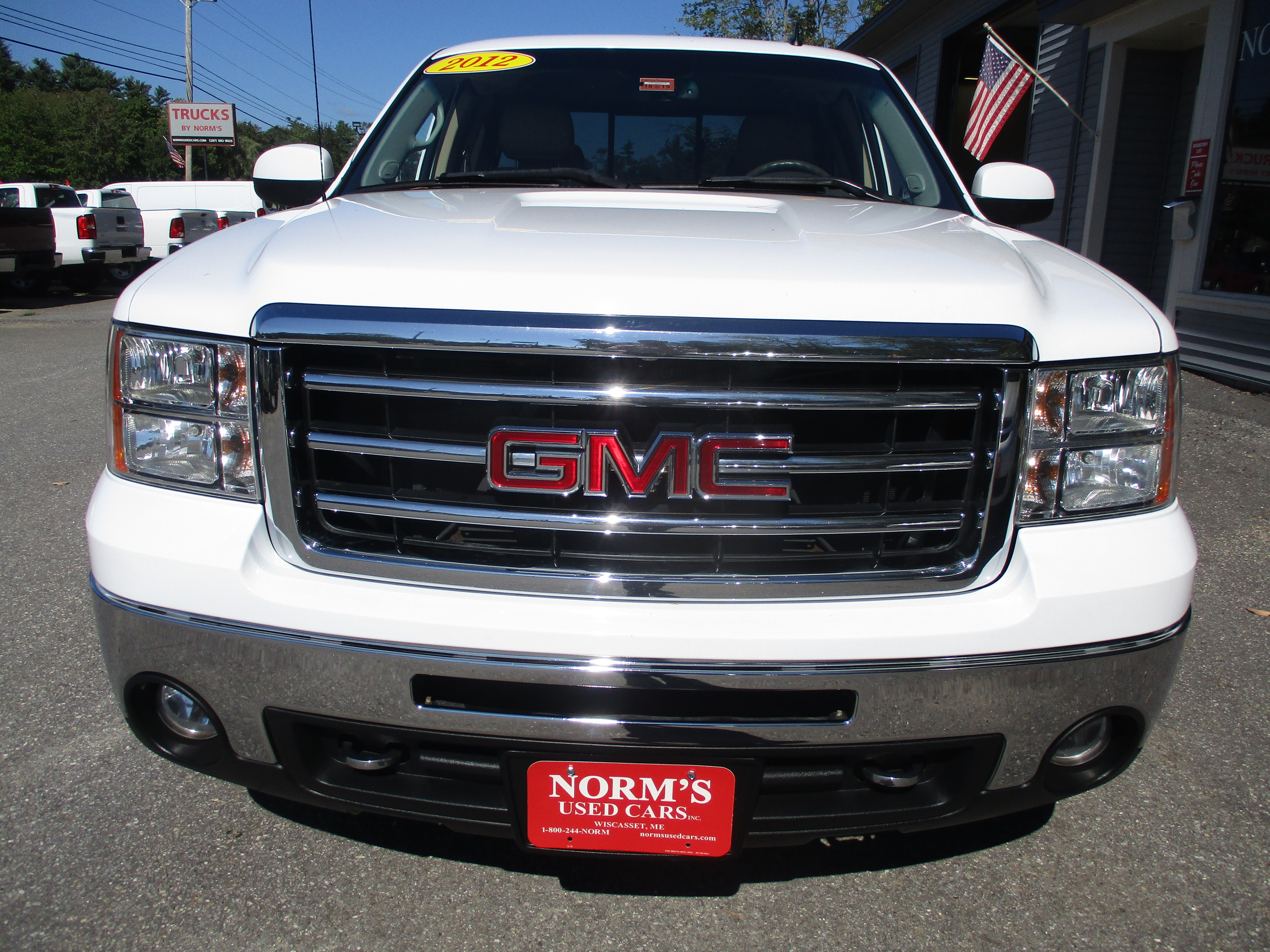 Photo Used 2012 GMC Sierra 1500 For Sale  Wiscasset ME