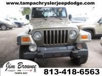 2005 Jeep Wrangler Unlimited Rubicon SUV in Tampa
