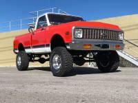 1972 Chevrolet C10 -SWB HUGGER ORANGE 4x4-FRAME OFF RESTORED-SHORT BED-