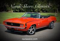 1969 Chevrolet Camaro -RS/SS396-Trim X11-Factory Code 72-Hugger Orange Convertible-SEE VIDEO