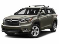 Certified Used 2016 Toyota Highlander XLE V6 SUV For Sale on Long Island, New York
