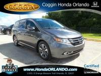 Certified 2016 Honda Odyssey Touring Elite Van Passenger Van in Orlando FL