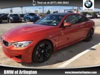 Used 2015 BMW M4 Rear-wheel Drive in Arlington