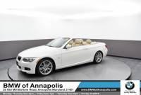 2011 BMW 3 Series 335i Convertible Rear-wheel Drive