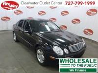 Used 2003 Mercedes-Benz E-Class for Sale in Clearwater near Tampa, FL