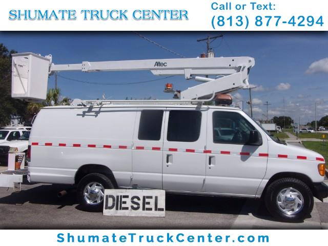 Photo 2003 Ford Econoline Cargo 7.3 Diesel 34 FT. Working Height Bucket Van