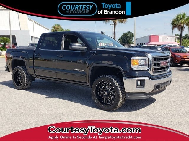 Photo Pre-Owned 2015 GMC Sierra 1500 SLE Value Package Truck Crew Cab near Tampa FL