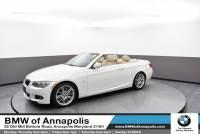 2011 BMW 335i Convertible 335i Convertible Rear-wheel Drive