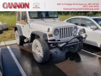 1997 Jeep Wrangler SE SUV