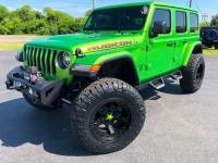 Used 2018 Jeep All-New Wrangler Unlimited MOJITO RUBICON CUSTOM LIFTED LEATHER NAV ICI