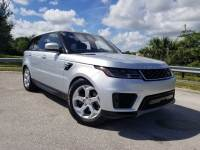 Certified Pre-Owned 2018 Land Rover Range Rover Sport SE With Navigation & 4WD