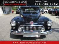 1948 Buick Roadmaster 4dr Sedan Ltd