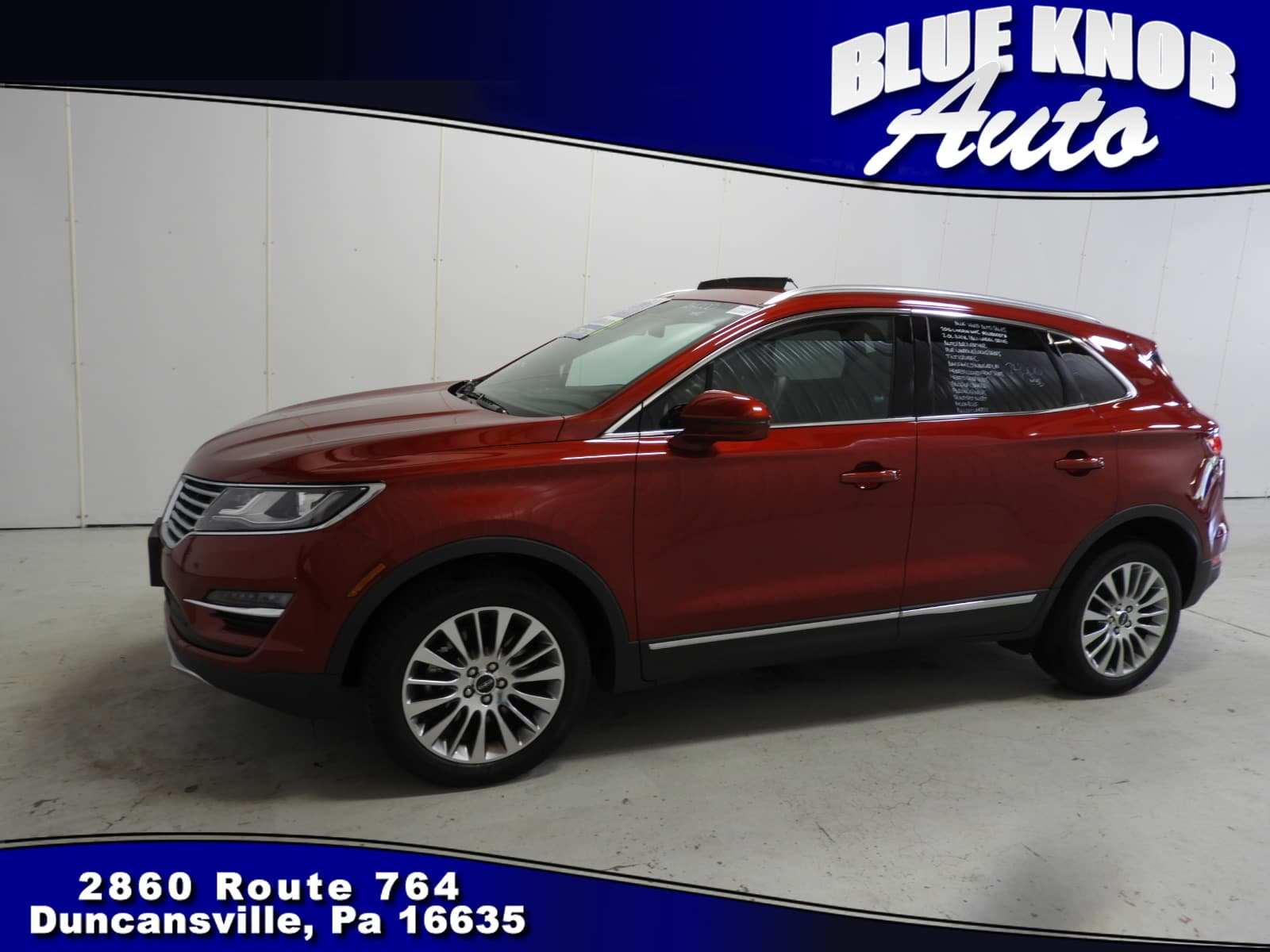 Photo 2016 Lincoln MKC Reserve SUV in Duncansville  Serving Altoona, Ebensburg, Huntingdon, and Hollidaysburg PA