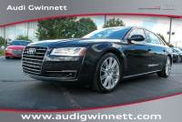 Certified Pre-Owned 2015 Audi A8 L 4.0T Sedan near Atlanta, GA