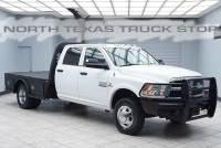 2013 Ram 3500 Tradesman Diesel 4x4 Flat Bed Hauler Crew Cab