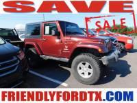 Used 2007 Jeep Wrangler Sahara SUV V6 SMPI for Sale in Crosby near Houston