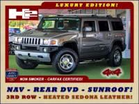 2008 Hummer H2 SUV LUXURY EDITION 4X4 - NAV - REAR DVD - SUNROOF!