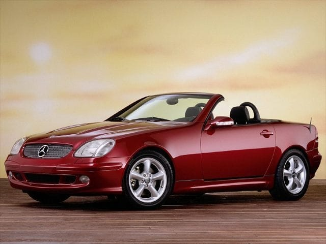 Photo 2001 Mercedes-Benz SLK-Class 2DR ROADSTER Coupe in Spartanburg