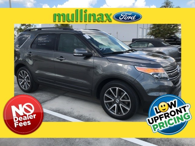 Photo Used 2015 Ford Explorer XLT W 2ND ROW Bucket Seats, Appearance Package, P SUV V-6 cyl in Kissimmee, FL