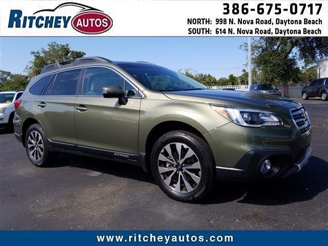 Photo Certified Pre-Owned 2017 Subaru Outback Limited in Daytona Beach, FL