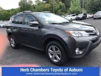 Used 2015 Toyota RAV4 XLE SUV All-wheel Drive in Auburn, MA