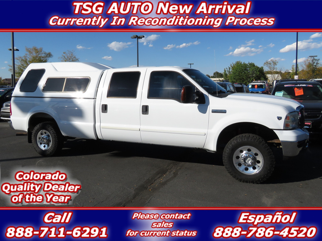 Photo 2005 Ford Super Duty F-250 XLT Super Crew 6.8L V10 4WD WTopper