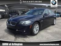 2015 BMW 528i Sedan Rear-wheel Drive