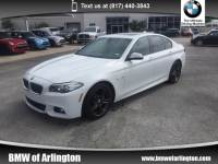 2015 BMW 535i Sedan Rear-wheel Drive