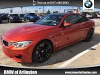 Used 2015 BMW M4 Coupe Rear-wheel Drive in Arlington