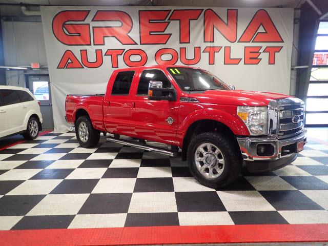 Photo 2011 Ford F-250 SD LARIAT CREW AUTO 6.7L POWER STROKE DIESEL 4X4 128K