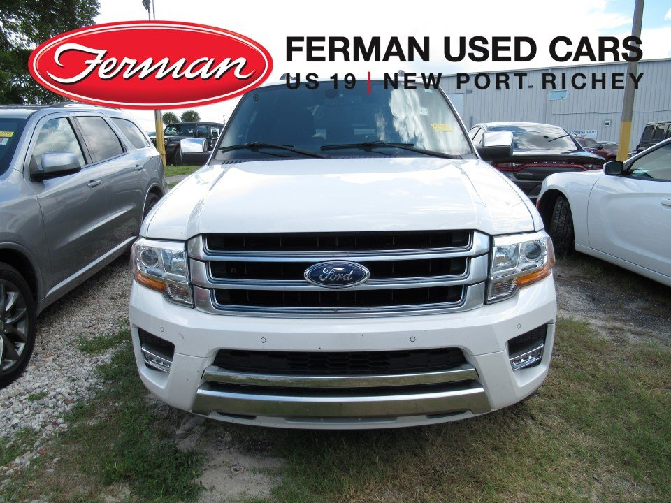 Photo 2015 Ford Expedition Platinum SUV in New Port Richey, FL
