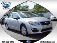 Certified Pre Owned 2015 Subaru Impreza Sedan Premium for Sale in Olathe near Lenexa, KS