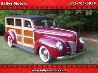 1940 Ford Woody Deluxe