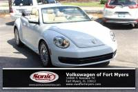 Used 2015 Volkswagen Beetle 1.8T w/Tech 2dr Auto Pzev Convertible in Fort Myers